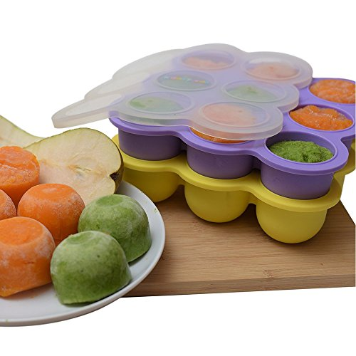 KIDDO FEEDO Baby Food Storage The Amazon Original Freezer Tray