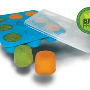 Homemade-Baby-Food-Storage-Solution-Silicone-Freezer-Tray-with-Lid-Makes-9-X-2-Oz-Cubes-BPA-Free-Non-Toxic-Lifetime-Guarantee-0