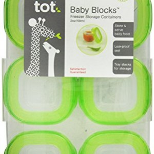 OXO-Tot-Baby-Blocks-Freezer-Storage-Containers-Green-0