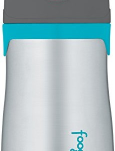 Thermos-FOOGO-Phases-Stainless-Steel-Straw-Bottle-CharcoalTeal-10-Ounce-0