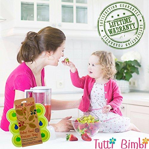 Homemade Apple Baby Food Storage