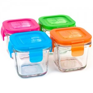 Wean-Green-Wean-Cubes-4oz120ml-Baby-Food-Glass-Containers-Multi-Color-Set-of-4-0
