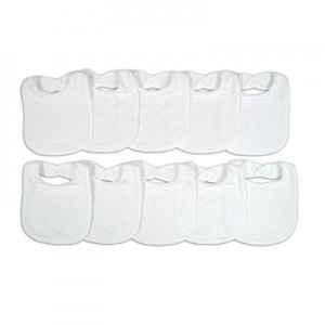 Neat-Solutions-10-Pack-Solid-Knit-Terry-Feeder-Bib-Set-White-0