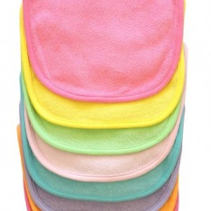 Neat-Solutions-8-Pack-Multi-Color-Solid-Knit-Terry-Feeder-Bib-Girl-0